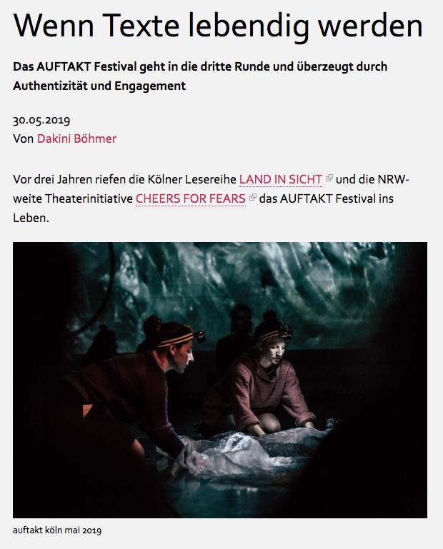 Auftakt Festival Fix Poetry Holger Rogge